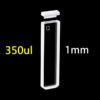 QS21, 1mm 0.35ml Quartz Spectrophotometer UV-vis Cuvettes