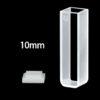OP12, 10mm Standard Optical Glass Cuvettes, 2 Clear Windows