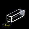 OP13, 10mm Standard Optical Glass Fluorescence Cuvettes, 4 Clear Windows