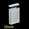 OP15, 30mm Standard Optical Glass Cuvettes, 2 Clear Windows, Open Top