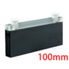 QC2401, 100mm Black Wall 2mm Narrow Width Cuvette with Stoppers, 7mL, Request Quote Before Ordering