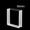 QF27, 50mm Macro Windows Polished Spectrometer Cuvette,  10mm Lightpath, Quartz 17.5mL