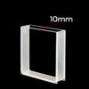 QF28, 40mm Macro Windows Polished Spectrometer Cuvette,  10mm Lightpath, Quartz 14mL
