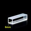 QF39, 6mm Lightpath Cuvette Cell for Automatic Biochemistry Analyzer, 0.54mL, 27x7x8 mm