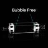 QF61, Flow Cell with 5mm Quartz Connectors, Lightpath: 10 mm, 3.5mL, Bubble Free