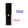 QM39, Self Masking Black Sub-Micro Volume Cuvettes, for Spectrophotometers, 50uL, PTFE Lids