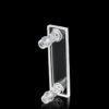 QM47, Flow Cell with Side Connectors, Quartz, Lightpath: 0.1/0.2/0.5/1/2mm