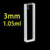 QS28, 3mm 1mL Short Path Length Quartz UV-vis Cuvettes