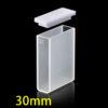 QS30, 30mm 10.5mL Long Path Length Quartz UV-vis Cuvettes