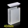 QS32, 40mm 14mL Long Path Length Quartz UV-vis Cuvettes